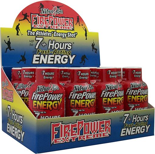 Firepower shot berry box