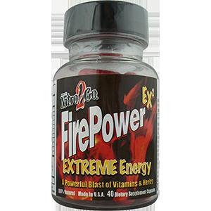firepower pill bottle feature