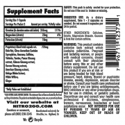 maximum diet packet supp fact