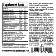 pure energy pills packet supp facts