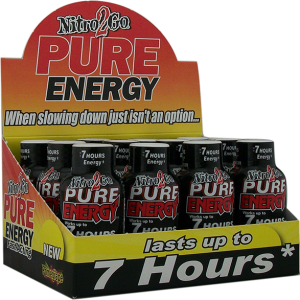 pure energy promegrape shot box