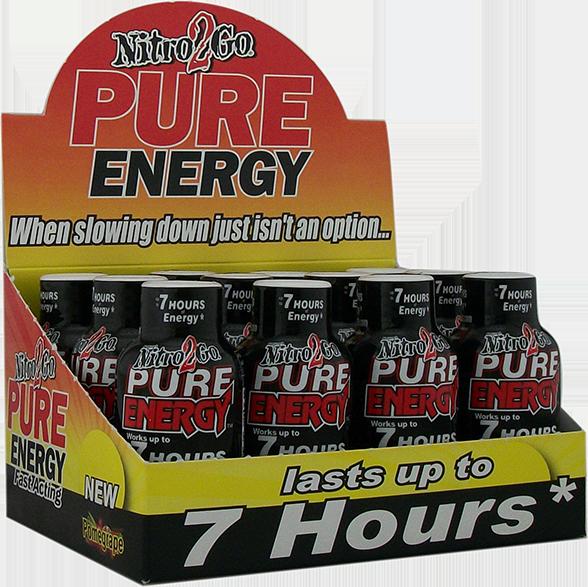 pure energy promegrape shot box