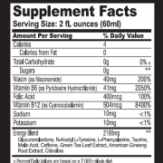 pure energy shot facts
